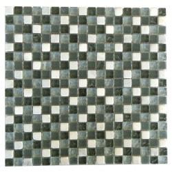 "Quartz Abolos 5/8"" x 5/8"" Kitchen Glass Mosaics Type 150161371 in Canada"