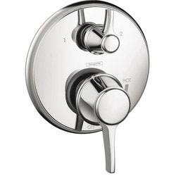 Hansgrohe Metris C Pressure Balance Trim Only With Diverter Model 150945431 Bathroom Faucets