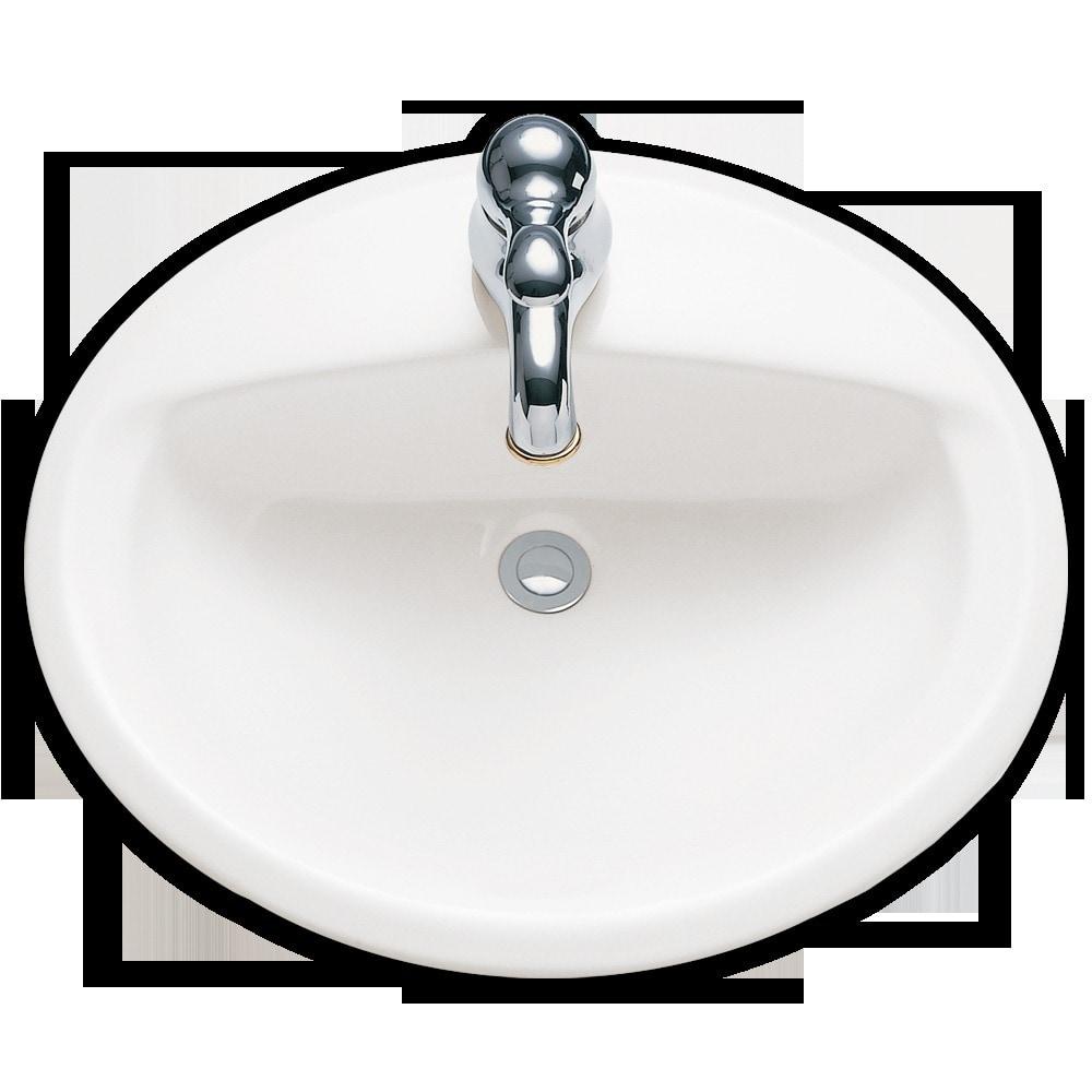 American Standard Aqualyn Drop In 20 3 8 Quot Porcelain W 8