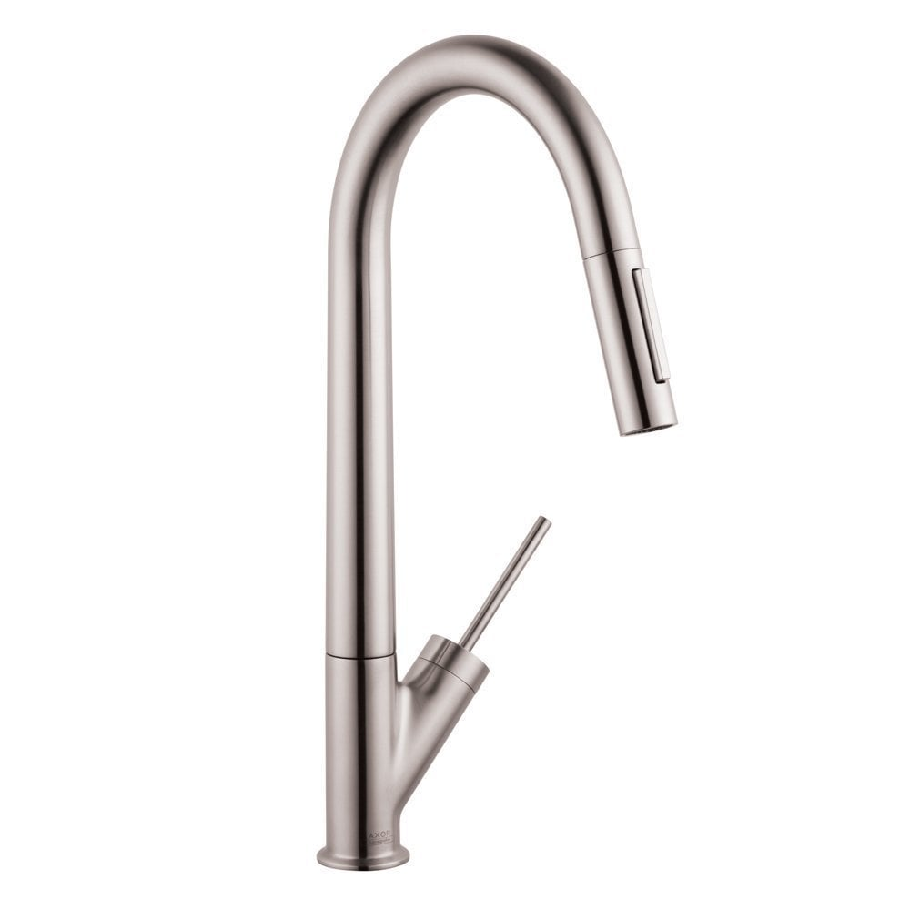 home kitchen kitchen faucets all products kitchen faucet steel