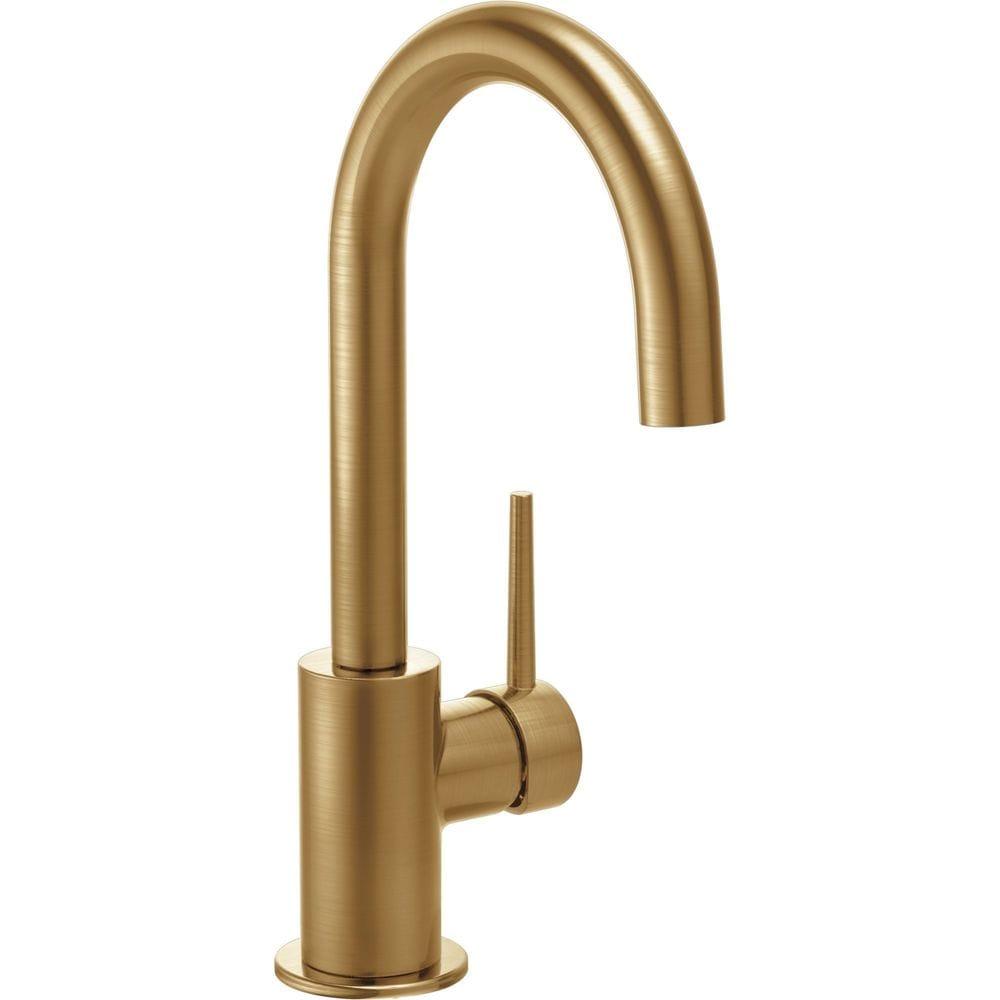 Delta Single Handle Single Hole Bar Prep Kitchen Faucet