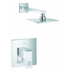 Grohe Eurocube Pressure Balance Shower Combination Model 150945001 Bathroom Faucets