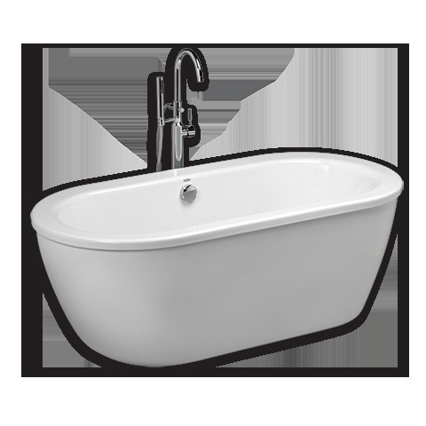 American Standard Cadet Freestanding With Hand Spray And Drain Tub With Tub F