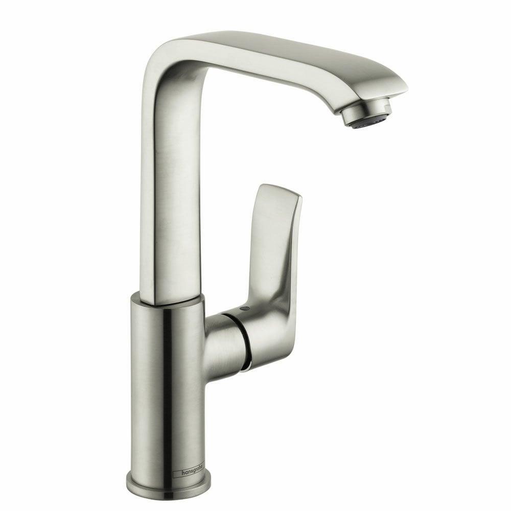 Hansgrohe Metris 230 Single Hole Bathroom Faucet Brushed Nickel 31087821