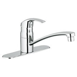 Grohe Eurosmart Single Lever Centerset Kitchen Faucet Model 151065371 Kitchen Faucets