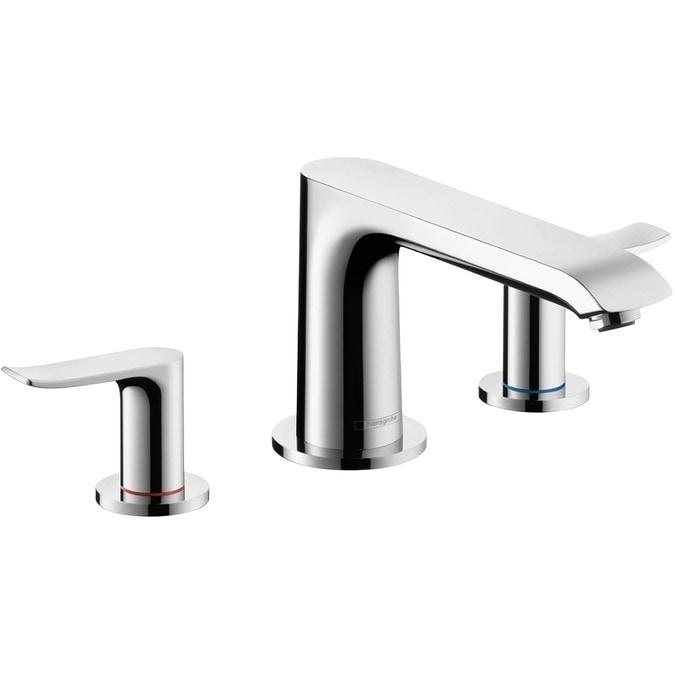 3 Hole Tub Faucet : Home Bathroom Bathroom Faucets All Products Roman Tub Faucet / Chrome ...