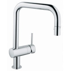 Grohe Minta Single Handle Pul Out Dual Spray Kitchen Faucet With SilkMove Model 151065481 Kitchen Faucets