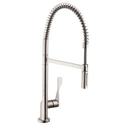 Hansgrohe Optik Axor Citterio 2 Spray Semi Pro Kitchen Faucet Model 151066471 Kitchen Faucets