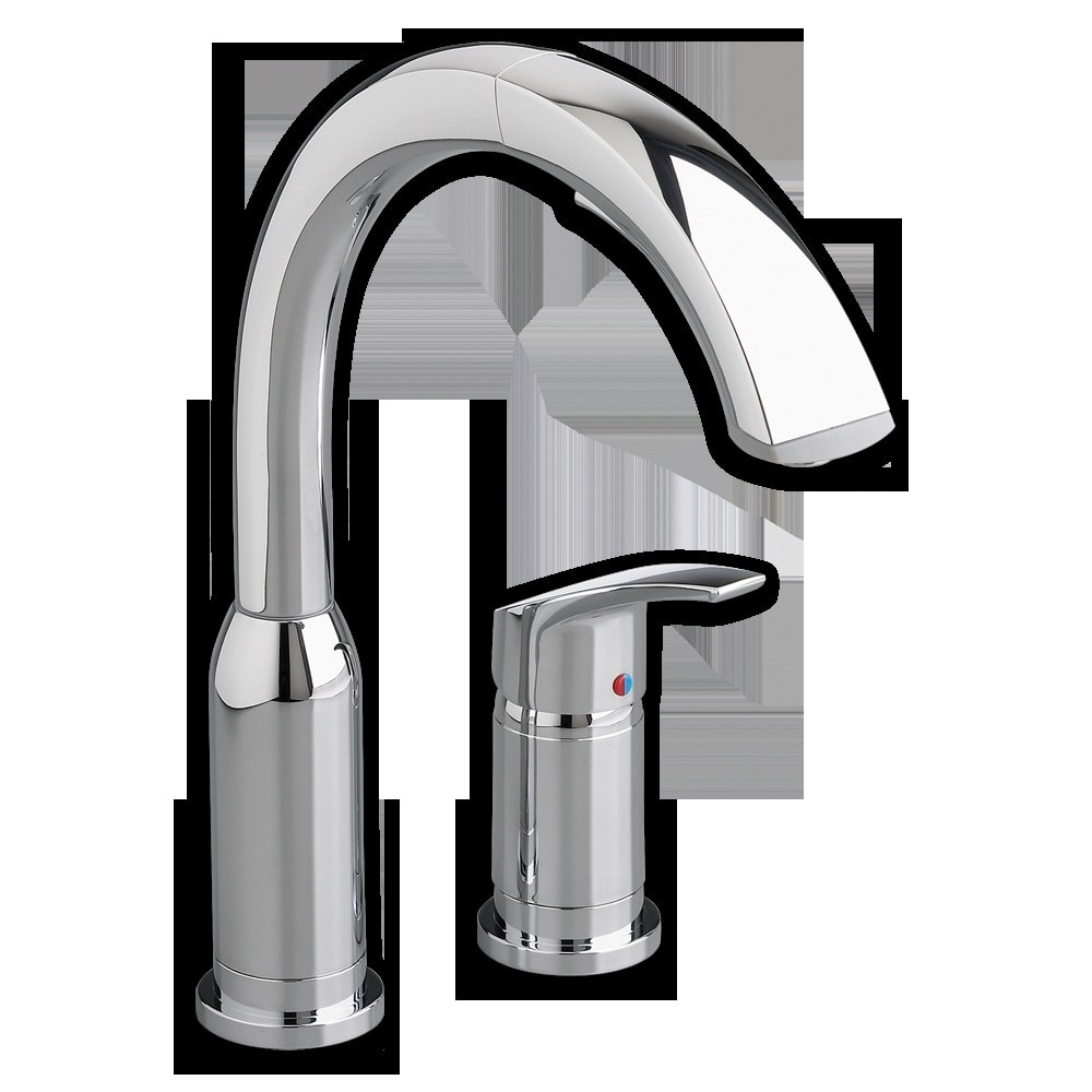 American Standard Arch Single Handle Pull Out High Arc Kitchen Faucet Kitchen Faucet Polished