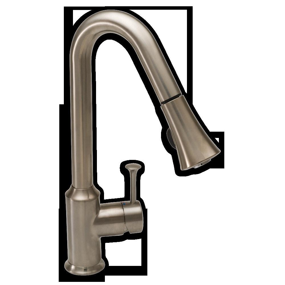 american standard pekoe 1 handle pull down high arc