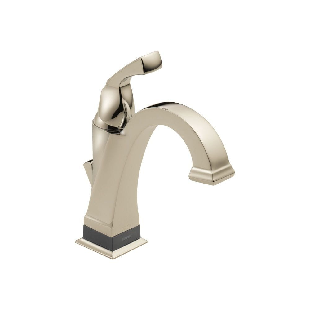 Delta Dryden Single Handle Centerset With Bathroom Faucet Brilliance Polished