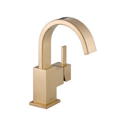 Delta Vero Single Handle Centerset With Disc Valve & Pop Up Drain Type 150772211 Bathroom Faucets in Canada