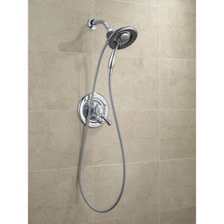 Delta In2ition 4 Setting Two In One Shower With Hose Type 150971631 Shower Heads in Canada