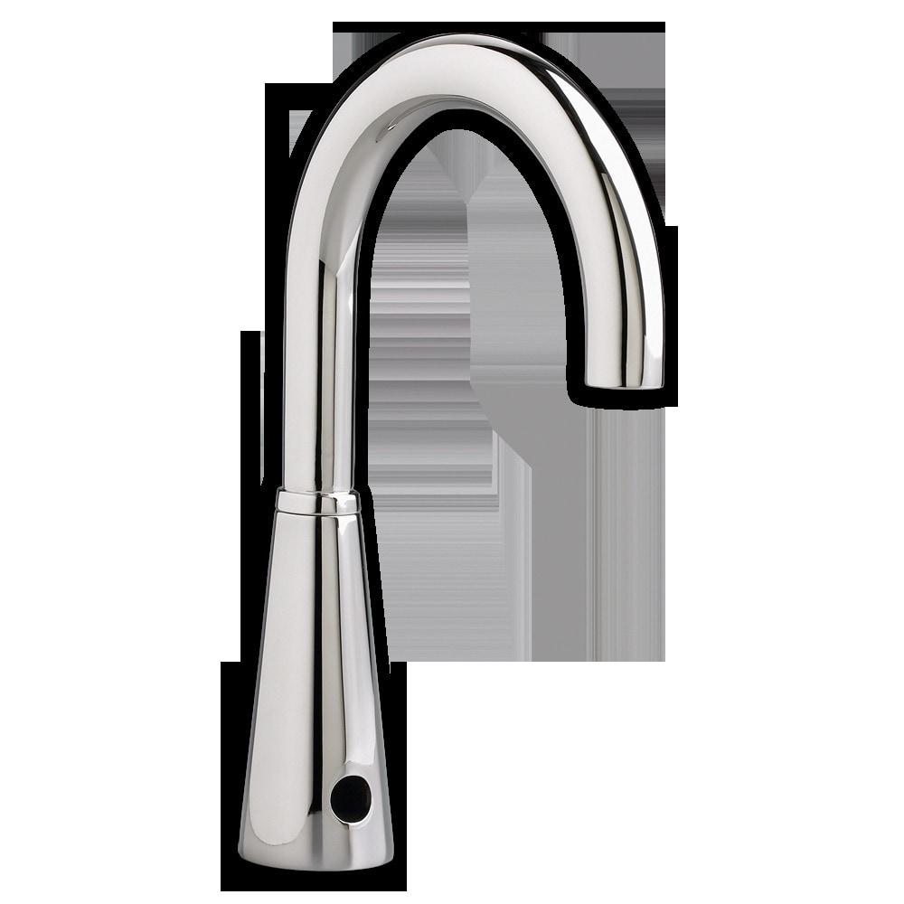 American Standard Gooseneck Proximity Bathroom Faucet Selectronic With Vand