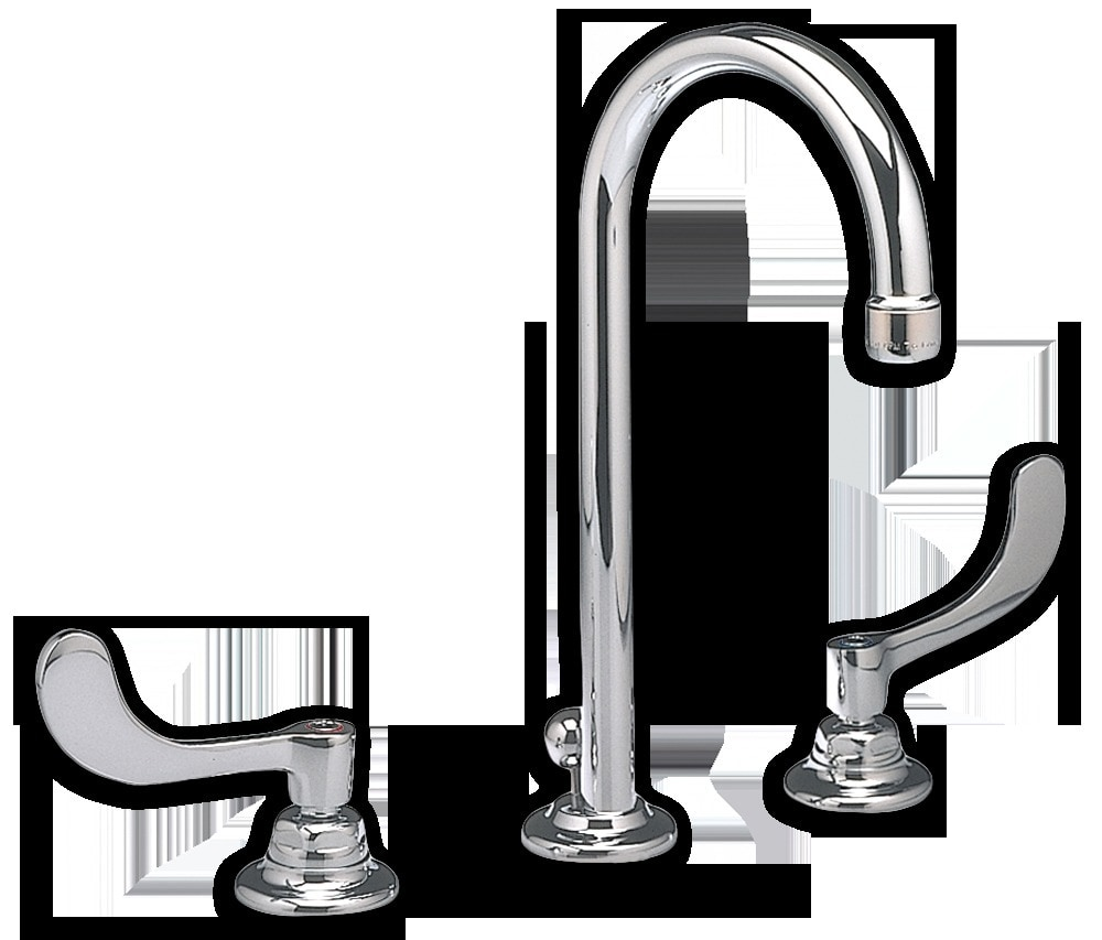 American Standard Widespread Two Handle Gooseneck Bathroom Faucet Without P