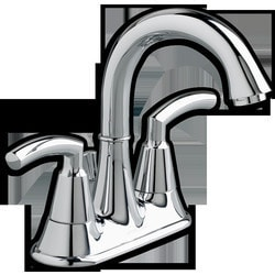 """American Standard Two Handle 4"""" Centerset High Arc Bathroom Faucet Type 150716401 Bathroom Faucets in Canada"""