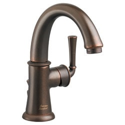 American Standard One Handle Monoblock High Arc Bathroom Faucet With Speed Connect Type 150715771 Bathroom Faucets in Canada