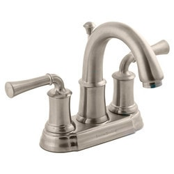 """American Standard Two Handle 4"""" Centerset High Arc Bathroom Faucet Type 150716471 Bathroom Faucets in Canada"""