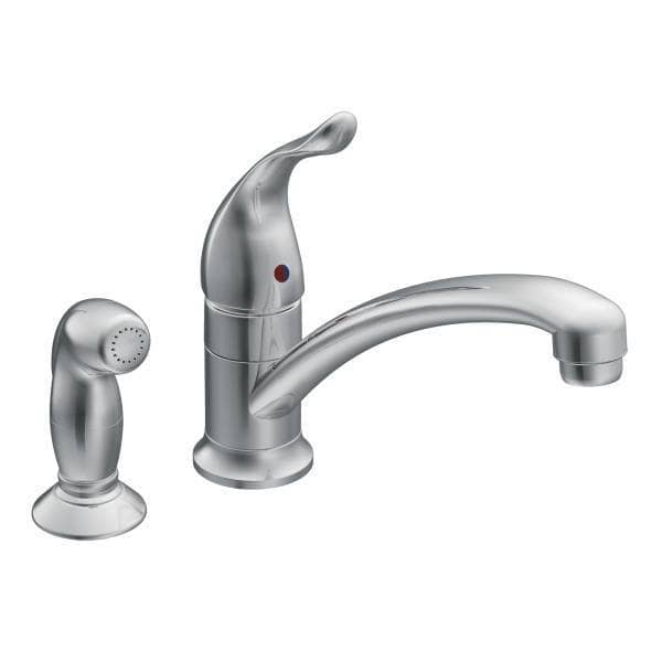 Moen Chateau™ Single Handle Deck Mounted With Side Spray