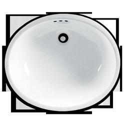 """American Standard Ovalyn 16 3/4"""" Undermount Porcelain Type 150834941 Bathroom Sinks in Canada"""