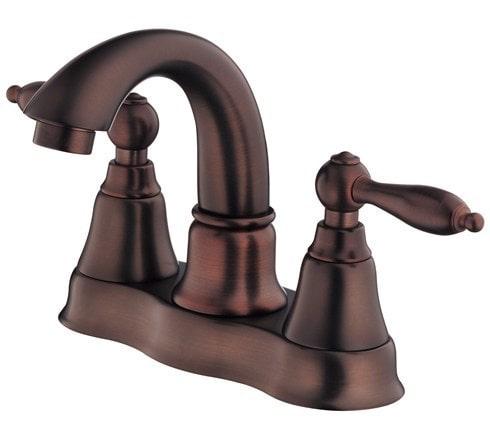 Danze Fairmont Double Handle Centerset With Disc Valve Bathroom Faucet Oil Rubbed Bronze