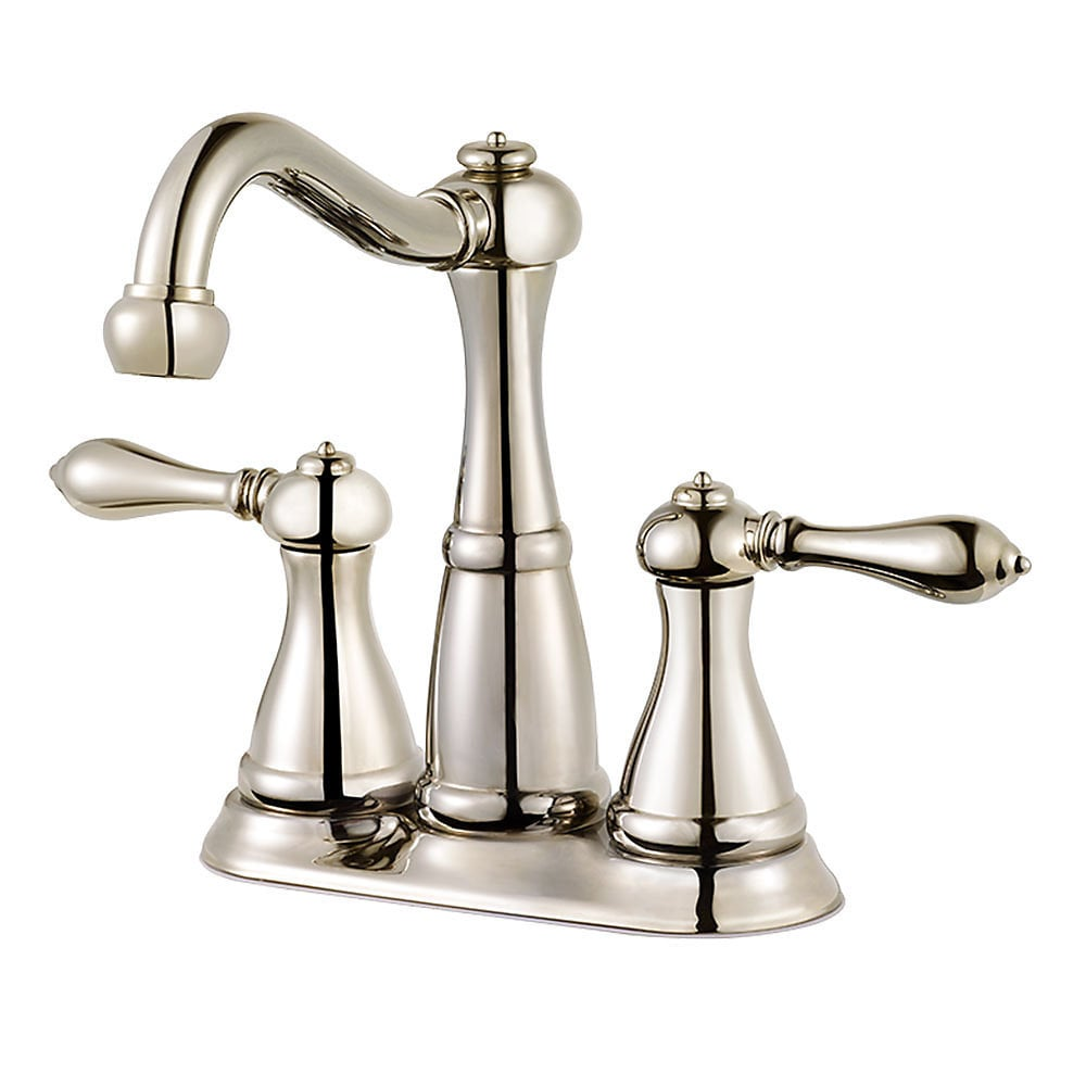 Pfister Marielle Mini Widespread With Mounting Hardware And Metal Pop Up Bathroom Faucet