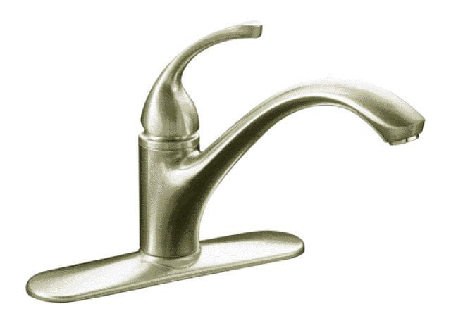 Kohler Forte Single Handle Deck Mounted Kitchen Faucet