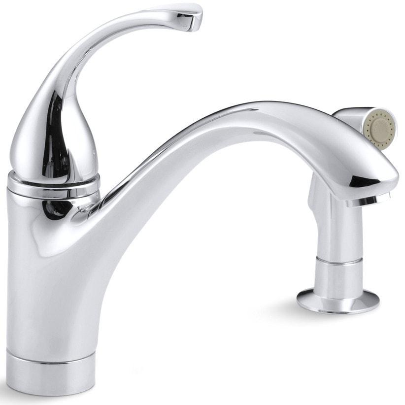 Kohler Forte Kitchen Faucet: Kohler Forte® Single Handle With Side Spray Kitchen Faucet