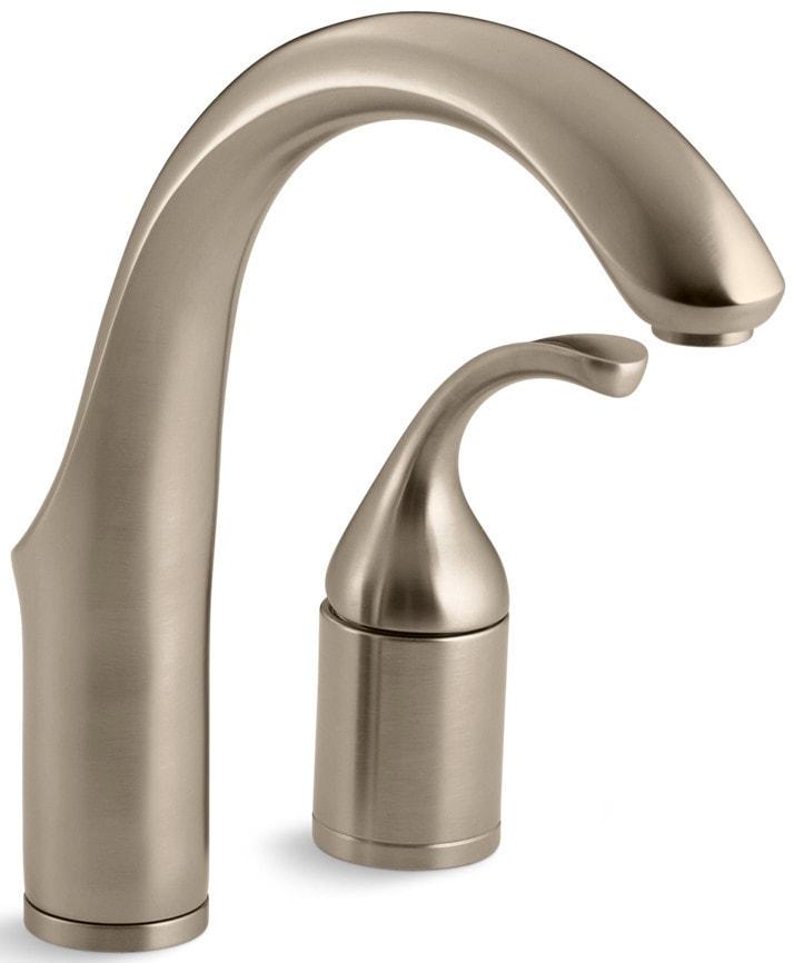 Kohler forte single handle with ceramic disc valve for Kitchen faucet recommendations