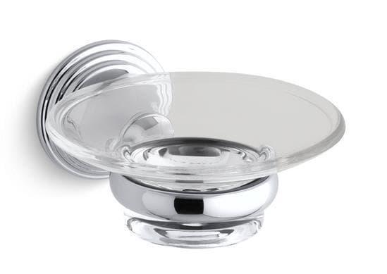 Kohler Devonshire Soap Dish With Mounting Hardware Soap Dish K 10560 Cp