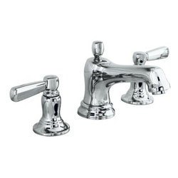 Kohler Bancroft Double Handle Widespread With UltraGlide Valve & Drain Model 150752441 Bathroom Faucets