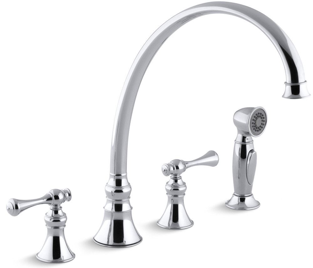 Kohler Revival® High-Arch Gooseneck With Side Spray