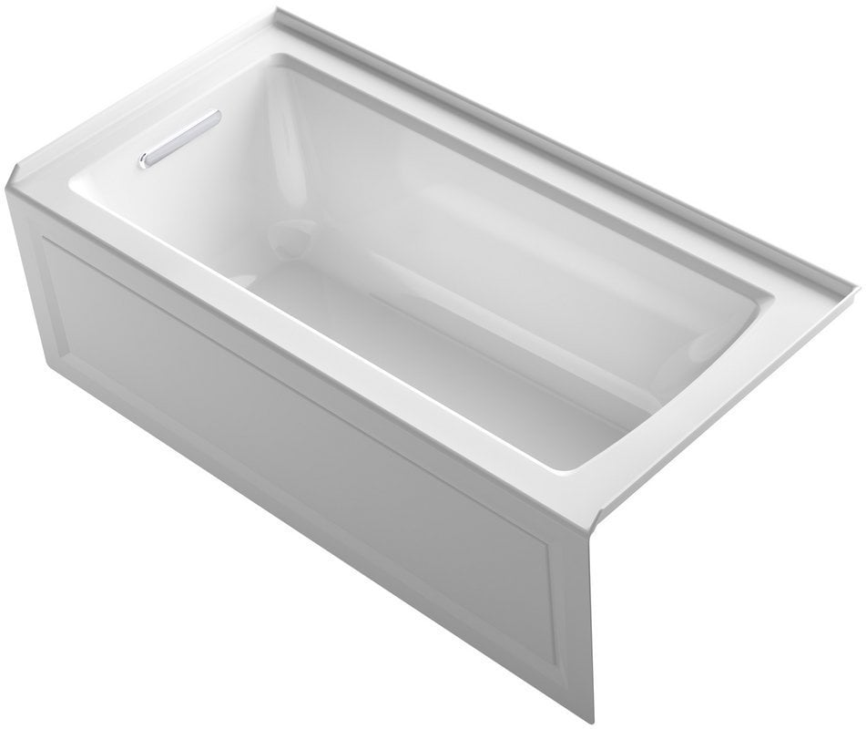Kohler Archer 60 X30 X19 Three Wall Alcove Soaking Tub