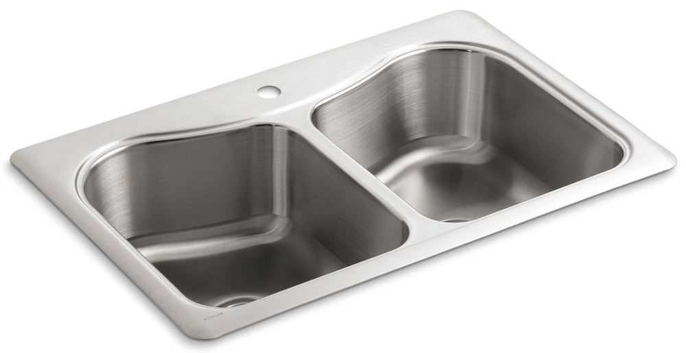 Kohler Kitchen Sinks Stainless Steel Top Mount : Home Kitchen Kitchen Sinks All Products Stainless Steel / Kitchen Sink ...