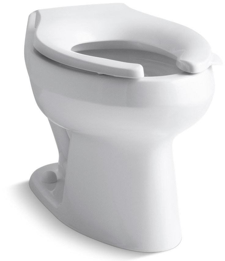 Kohler wellworth touchless flushometer with tripoint for Touchless toilet seat