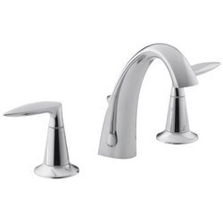 Kohler Alteo Widespread With Ultra Glide & Metal Pop Up Assembly Model 150754471 Bathroom Faucets