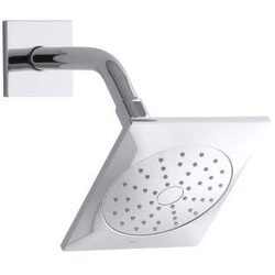 Kohler Loure 2 0 Gpm Single Function Showerhead With Katalyst Technology Type 150970321 Shower Heads in Canada