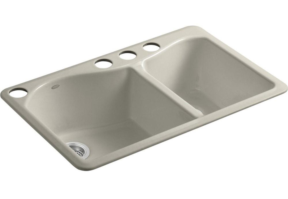 Kohler Lawnfield Sink : ... Kitchen Sinks All Products Sandbar / Kitchen Sink / K-5841-4U-G9