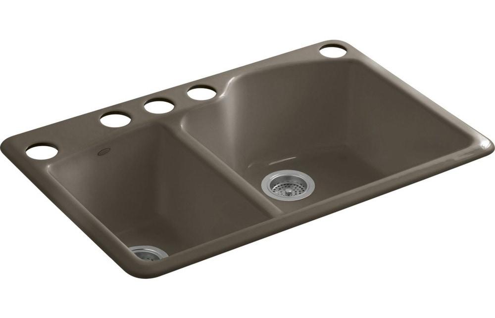 ... Kitchen Kitchen Sinks All Products Suede / Kitchen Sink / K-5870-5U-20