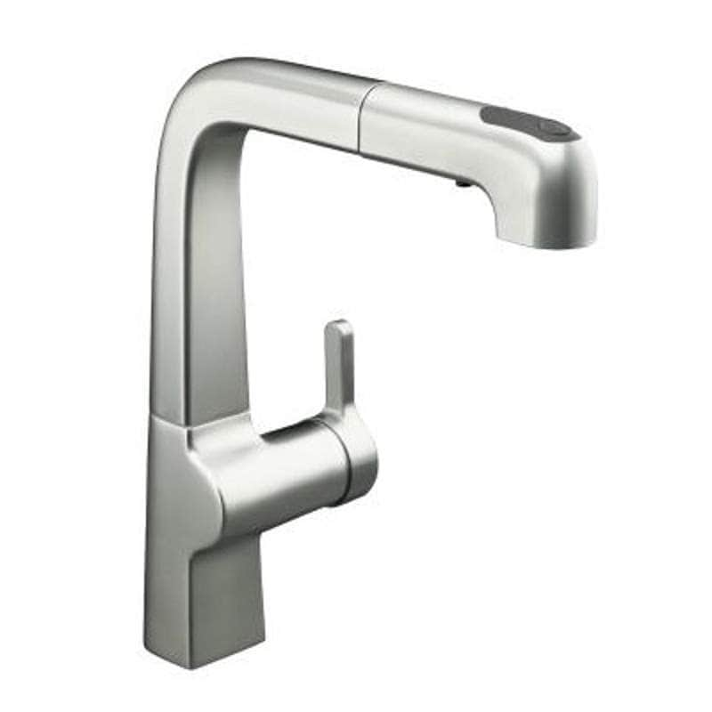 Kohler Single Handle Pullout Kitchen Faucets Front Handle