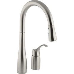 Kohler - Simplice® Single Handle Pull Down Kitchen Sink With DockNetik