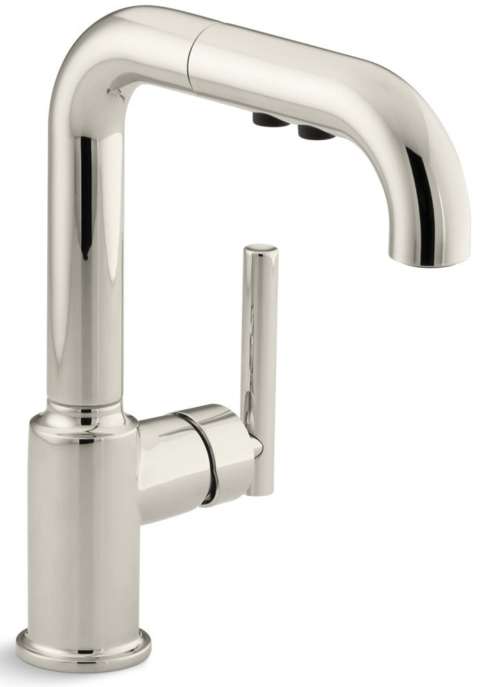 Kohler Purist Single Handle With Pullout Spray Kitchen