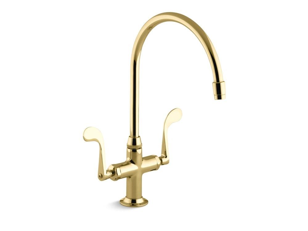 Kohler Essex 174 Double Handle Single Hole Kitchen Faucet