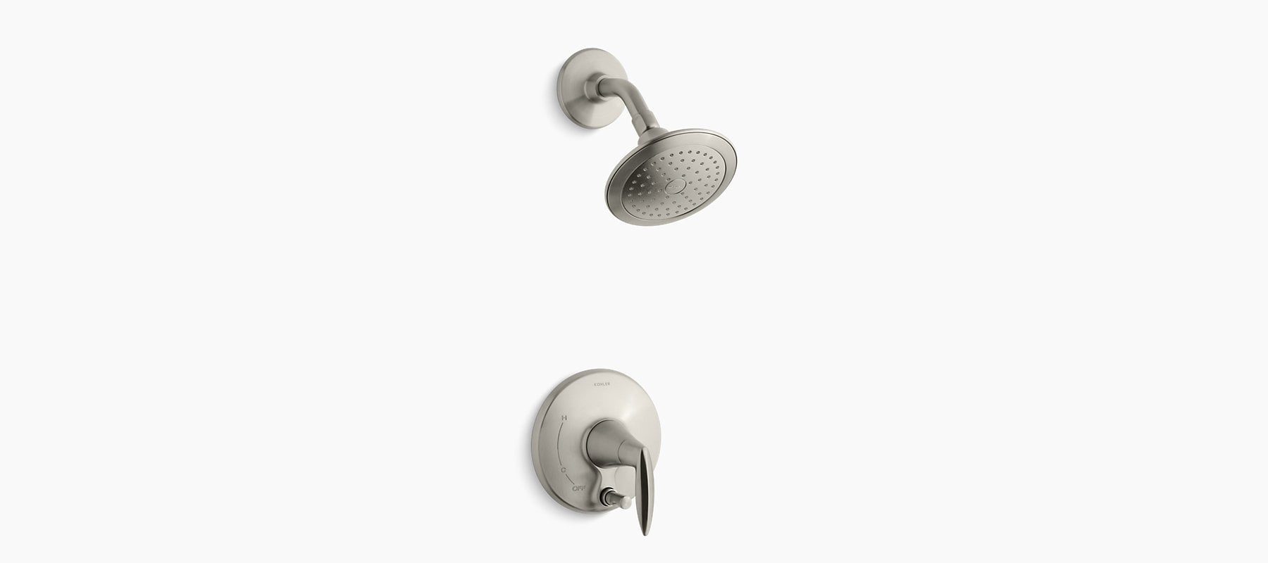 Kohler - Alteo Shower Trim Only w/Push-Button Diverter Without Valve 150853921