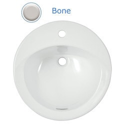TOTO Ultimate Self Rimming Single Hole Lavatory w/ Sanagloss Glaze Type 150842301 Bathroom Sinks in Canada