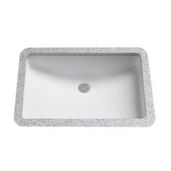 "TOTO 20 7/8"" Cotton Counter & SanaGloss Model 150842611 Bathroom Sinks"
