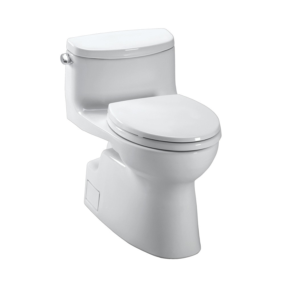 toto the carolina ii collection one piece toilet with. Black Bedroom Furniture Sets. Home Design Ideas