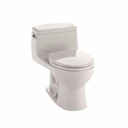 toto the eco supreme collection one piece toilet with softclose seat in sedona beige round. Black Bedroom Furniture Sets. Home Design Ideas