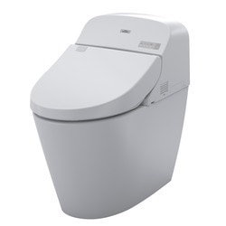 toto g400 bidet toilet with 3d tornado flush in cotton. Black Bedroom Furniture Sets. Home Design Ideas