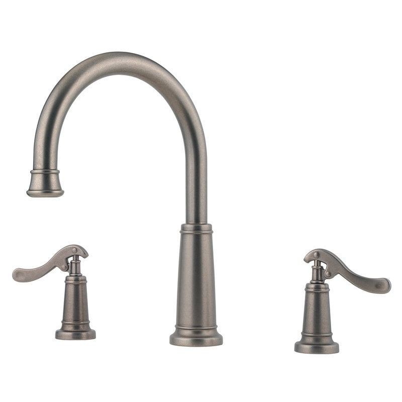 Pfister Pewter Ashfield Trim Handles And Valve Sold Separately Roman Tub Faucet Rustic Rt6